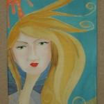 spring - silk painting
